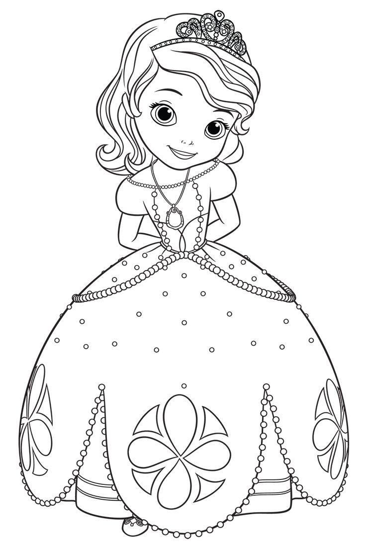 Pin by Ramona Spescha on Coloring pages  Princess coloring pages