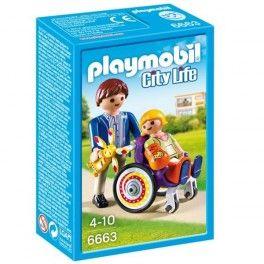 Playmobil 6663: niña en silla de ruedas Precio: 5,95 € Disponible en: http://www.playmoclicks.com/es/city-life-playmobil/1211-playmobil-6663-nina-en-silla-de-ruedas.html