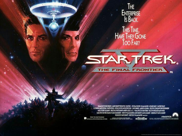 Star Trek V The Final Frontier movie poster