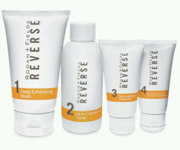 Rodan and Fields Reverse regimen - for sun damaged skin and brown spots - Love this!!
