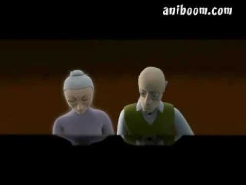 The Piano - Amazing Short - Animation by Aidan Gibbons, Music by Yann Tiersen