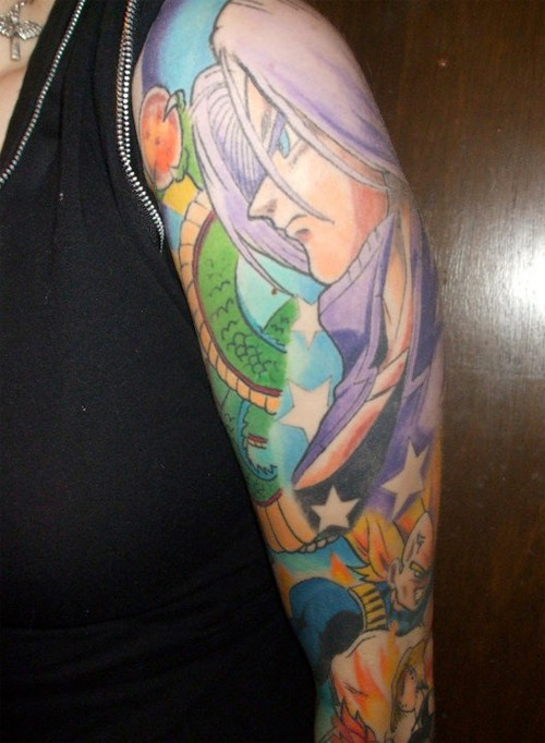 Crunchyroll - FEATURE: The Best of Anime Tattoos!