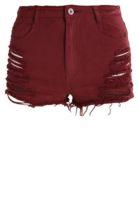 Missguided Denim shorts - rum raisen for £28.99 (27/02/17) with free delivery at Zalando