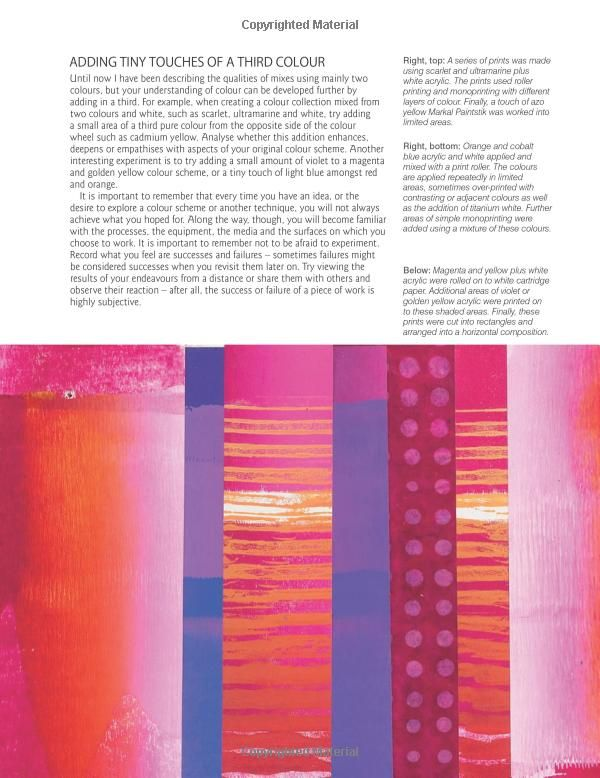 A Passion for Colour: Exploring Colour Through Paper, Print, Fabric, Thread and Stitch: Ruth Issett: 9781844487455: Amazon.com: Books