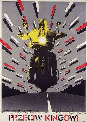 Przeciw Kingowi  Original Polish movie poster film, Yugoslavia director: Dragovan Jovanovic  actors: Bosko Bozin  designer: Mieczyslaw Wasilewski  year: 1975 size: A1