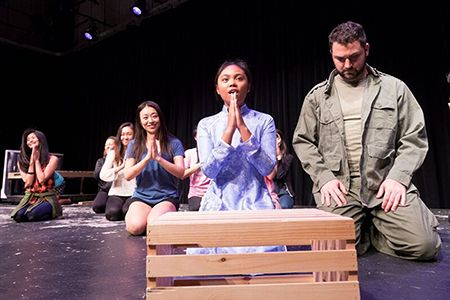 """""""Miss Saigon,"""" the international musical sensation that ran on Broadway for a decade, opens the 2016 season at Mercer County Community College's Kelsey Theatre. PinnWorth Productions proudly presents this blockbuster show for nine performances, Sept. 9-25."""