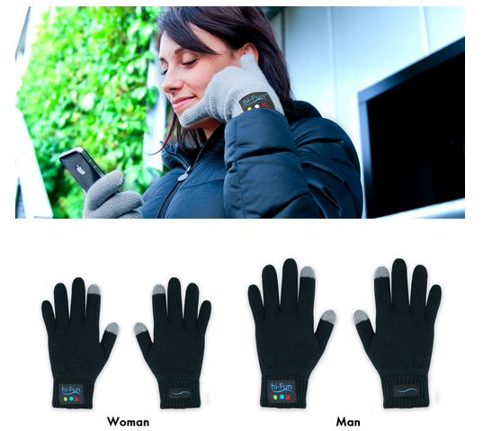 This winter's must-have - bluetooth gloves