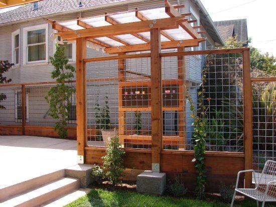 51 Best Hog Wire Fences Amp Arbors Images On Pinterest