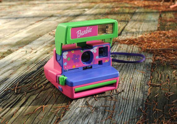 I used to love my Barbie Polaroid camera