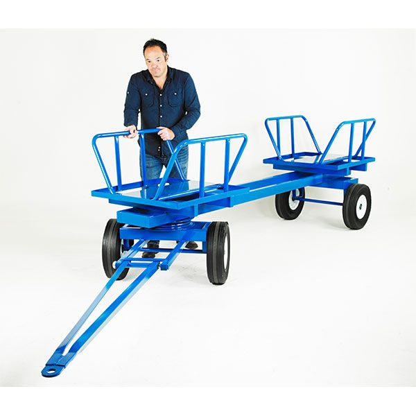 Aluminum Brass Working France: 2000kg Pole Or Timber Towing Trailer