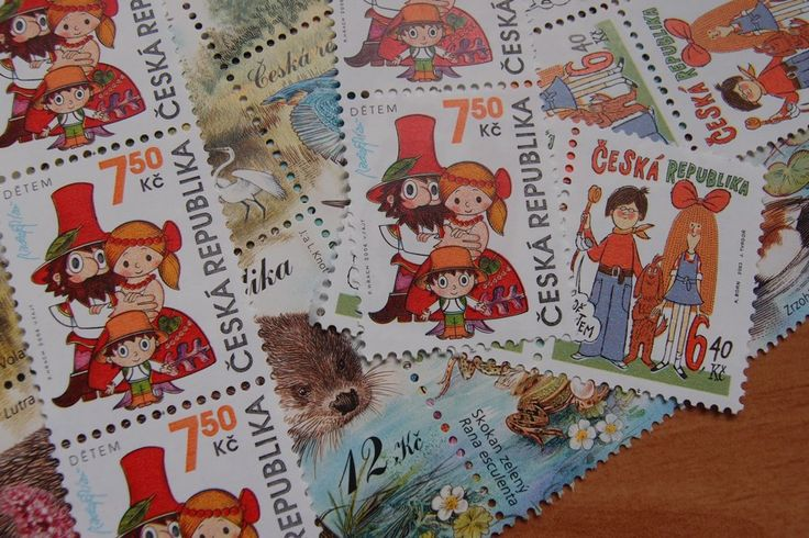We love snail mails... and postal stamps :)  www.vjahodovce.blogspot.com