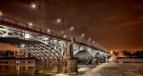 Most Poniatowskiego - Warsaw, Poland