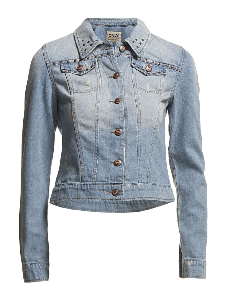 ONLY - CHRIS DENIM STUDS JACKET BB - GUA