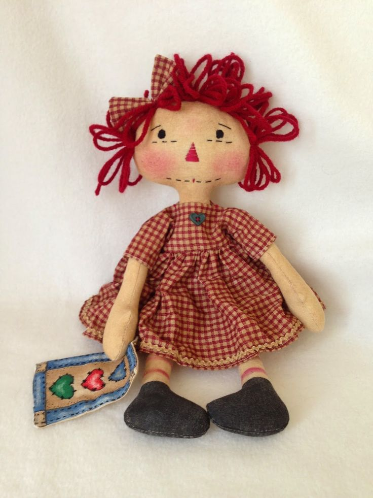 1000 Images About Raggedy Doll Amp Dolls On Pinterest