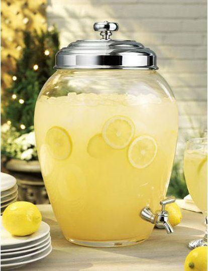 Limonada refrescante para el verano