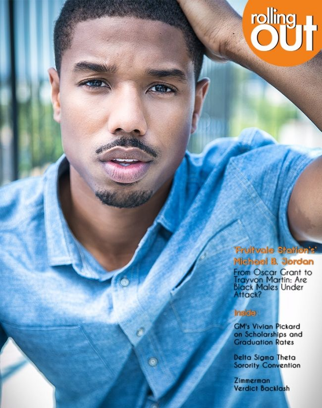 Michael B. Jordan Covers Rolling Out Magazine http://blog.blackbloggersconnect.com/2013/07/30/michael-b-jordan-covers-rolling-out-magazine/