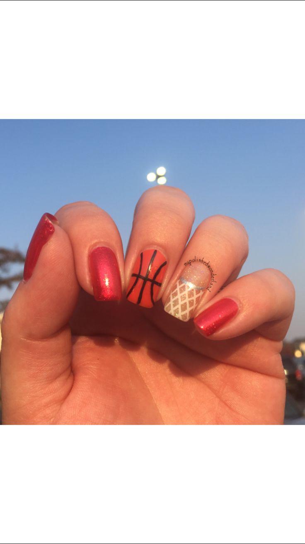 My basketball nails