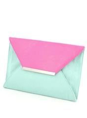 Pink & Blue Envelope Clutch: Style Fashionista, Pretty Pastelsss, Envelope Clutch, Pastel Envelope, Aqua Envelope, Simple Style, Blue Envelope, Colors Together