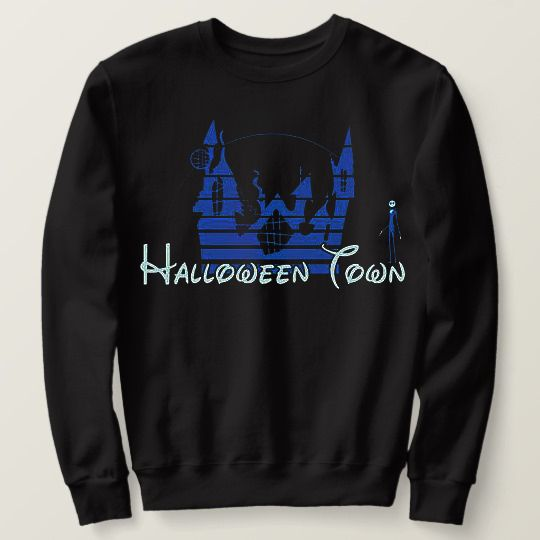 Halloween Town Disney Custom Sweatshirts