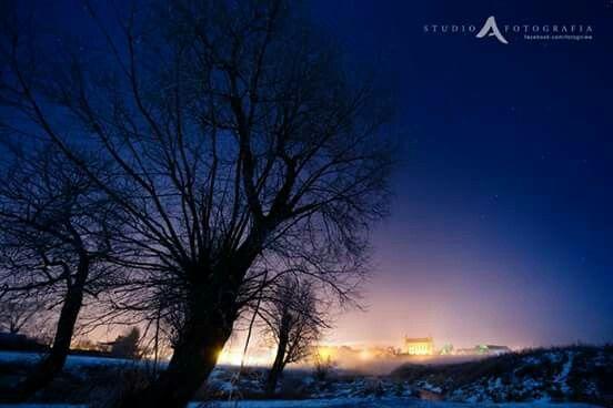 Zima w Gniewie (Winter in Gniew)