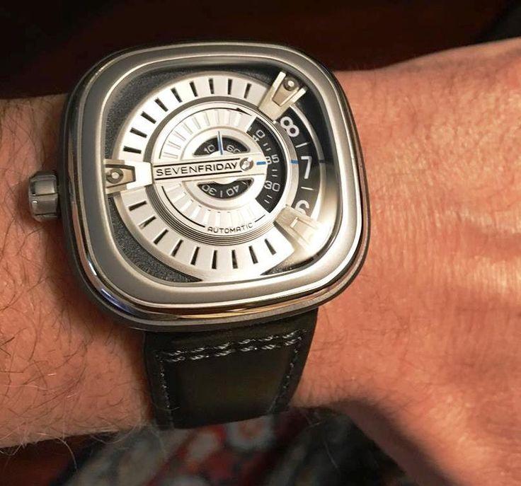 SOLD !!  Seventyfriday Watch M1/01 Genuine Original NUOVO!!! Nouveau Neu NEW-NIB-B&P