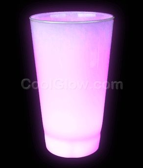 Share CoolGlow with you Friends and Receive 5% on your order.  Glow LED Cup - 16oz Pink #http://pinterest.com/coolglow/