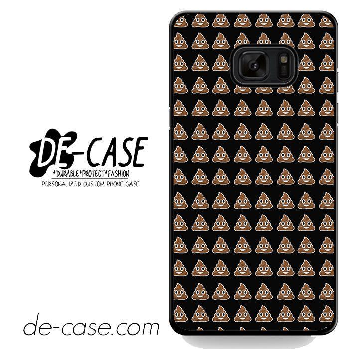 Emoji Poop Funny Emoticon Symbol DEAL-3960 Samsung Phonecase Cover For Samsung Galaxy Note 7