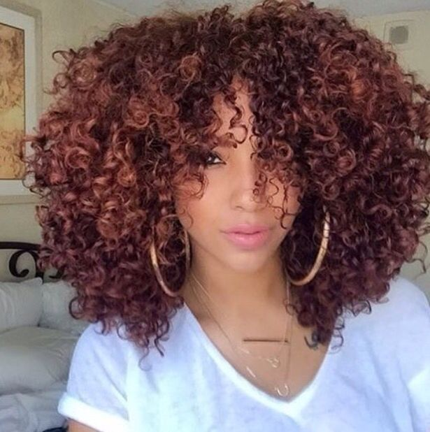 Stupendous 1000 Ideas About Dyed Curly Hair On Pinterest Red Dip Dye Short Hairstyles Gunalazisus