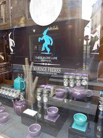 Vidriera de Mariage Freres, una de las casa de té mas antiguas