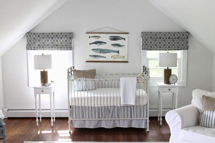 Interieur & kids | Neurale babykamer met rustgevende zee sfeer