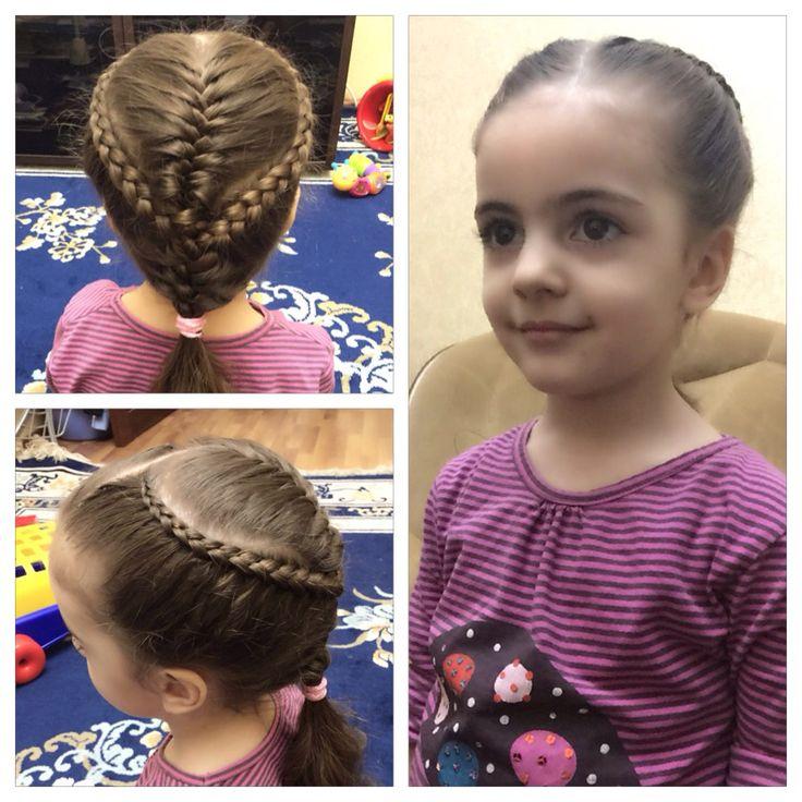 Косы для девочек, braid