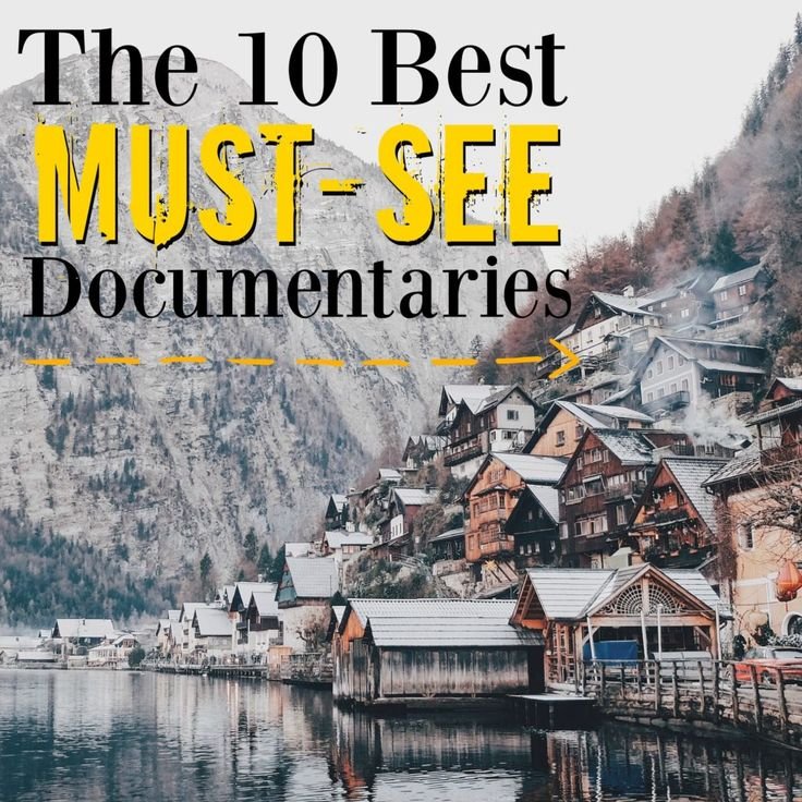 If you're looking for a good documentary to watch, this is the list to check out!