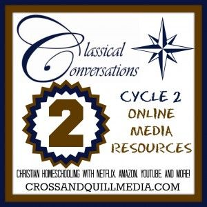 Classical Conversations Cycle 2 Resource List - Cross and Quill Media