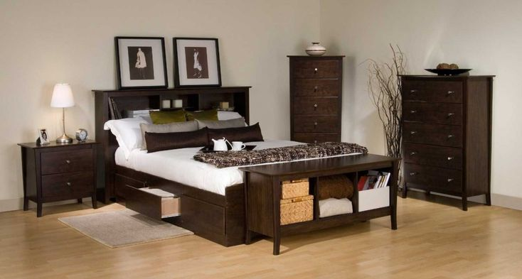 The black friday deals on Prepac bed frame with drawers