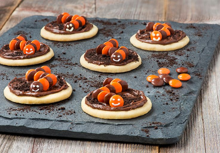 SCARIES Creepy Crawler Cookies These creepy, crawly cookies will cause delight, not fright!