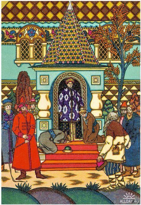 By Boris Zvorykin, Russian artist, fiary tales illustration
