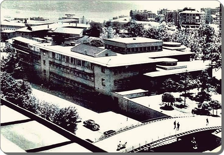 Taksim Belediye Gazinosu - 1950 ler