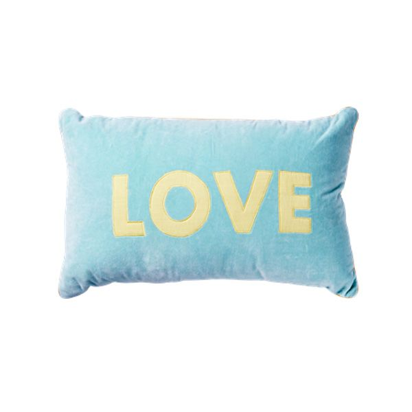 Coussin rectangulaire LOVE