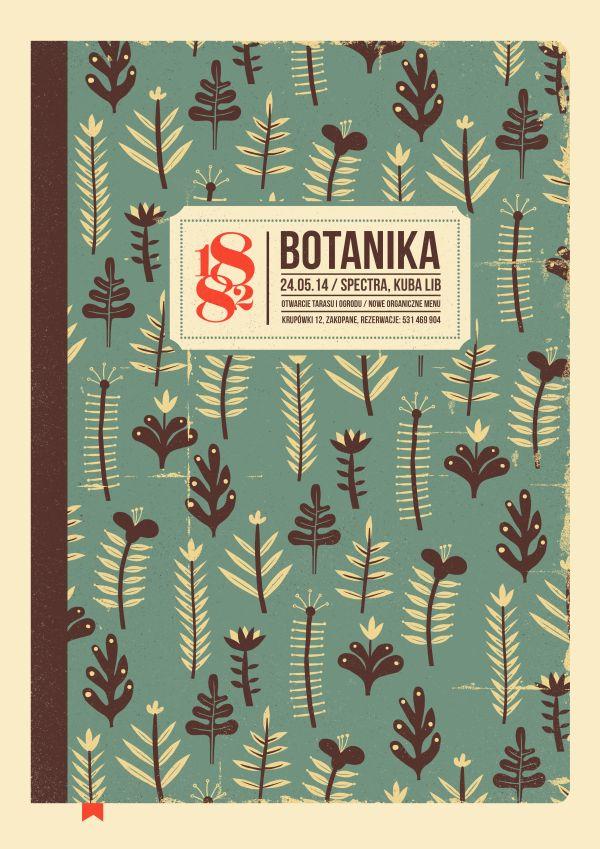 dworzec tatrzański bar & restaurant   posters by Dawid Ryski, via Behance