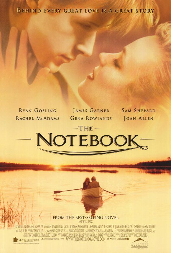 The notebook movie posters | The Notebook Movie Poster B 27x40 Ryan Gosling Rachel McAdams Tim Ivey