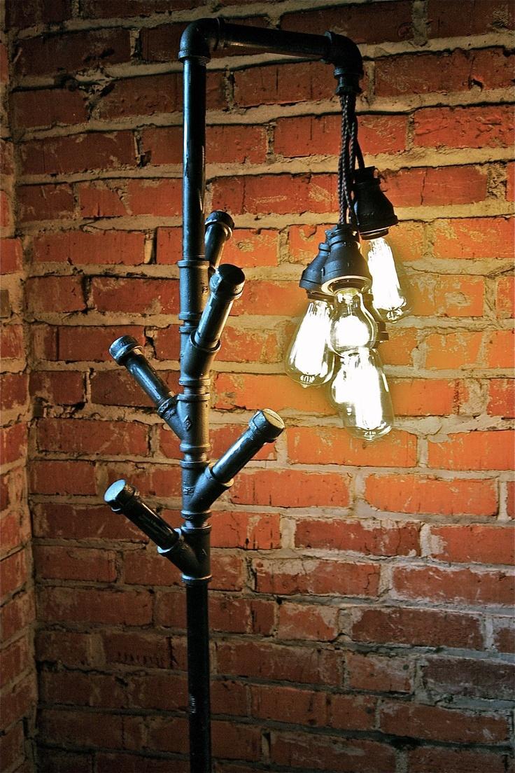 60 best lamps images on Pinterest | Industrial floor lamps ...