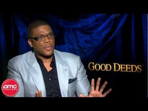 "Tyler Perry Talks ""Good Deeds"" With AMC"