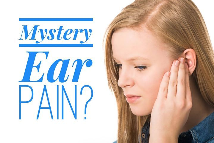 Not all ear pain is caused by an infection. In fact ear pain can be the result of tooth grinding jaw misalignment or inflammation. If you frequently complain of ear soreness or pain and doctors can find no fluid or infection ask us for an evaluation. - Children's Dentistry | Gilford Plymouth & Littleton NH