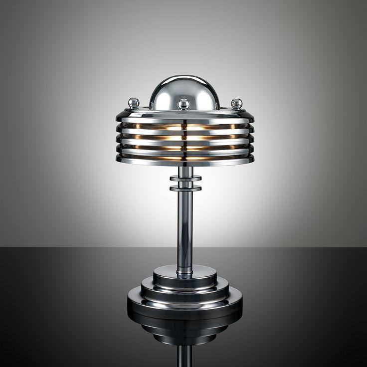 Terry Tynan machine age art deco lamp TT34