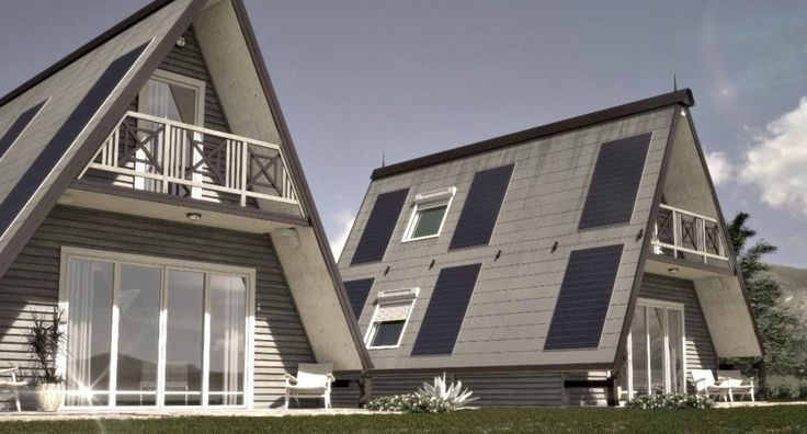 Designed by Italian architect, Renato Vidal, M.A.Di Home is a flat-pack home design whose system is easily assembled in just a few hours.