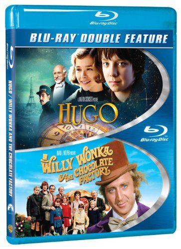 love it Hugo / Willy Wonka & the Chocolate Factory [Blu-ray] Get this Movie here! http://www.blurayflix.com/shop/blu-ray-movies/hugo-willy-wonka-chocolate-factory-blu-ray/
