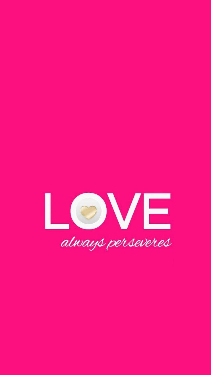 Nice Pink Valentine Day iPhone Wallpaper 1