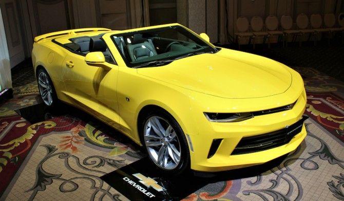 新型シボレー カマロが日本上陸Chevrolet