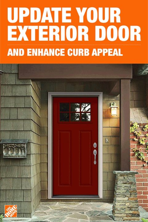 The front door to your home is one of the first things people notice. So, having a strong and beautiful exterior door not only adds curb appeal but also value to your home. JELD-WEN Premium Steel doors have clean, modern lines that will help your home stand out no matter its style or design. Click to shop these contemporary doors.