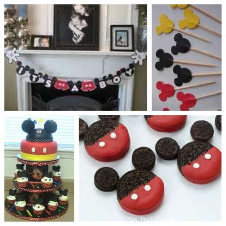 Mickey Mouse Baby Shower Theme